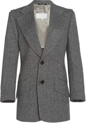 Maison Margiela Herringbone Wool Blazer