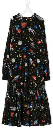 MonnaLisa TEEN space print dress