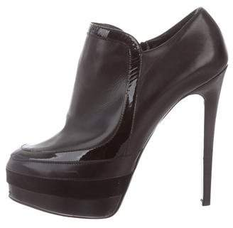 Ruthie Davis Leather Platform Boots