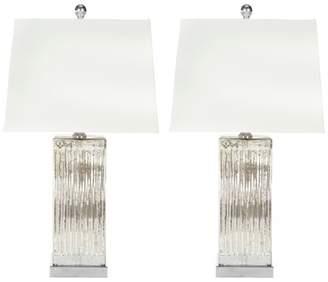 Safavieh Rock 27 H Crystal Table Lamp