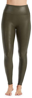 Spanx Imitation-Leather Leggings