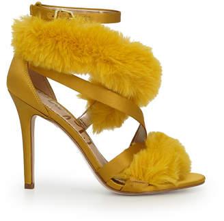 Sam Edelman Adelle Faux Fur Heeled Sandal