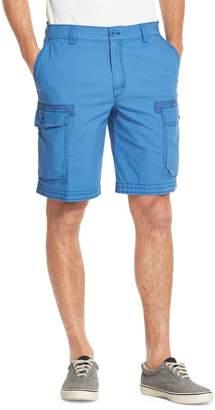 Izod Pigment Dyed Stretch Cargo Shorts