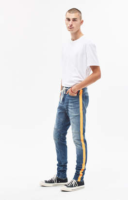 Moto Pacsun Stacked Skinny Side Stripe Jeans