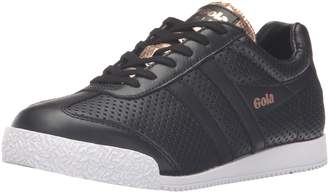 Gola Women's Harrier Glimmer Leather Fashion Sneaker