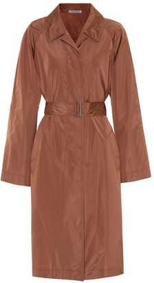 Bottega Veneta Silk-blend trench coat