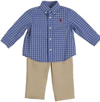 Ralph Lauren Cotton Poplin Shirt & Gabardine Pants