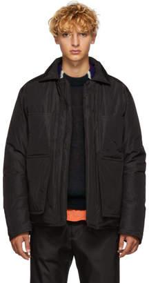 Craig Green Black Crinkle Down Worker Jacket