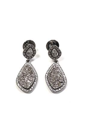 Marcia Moran Druzy Drop Earrings