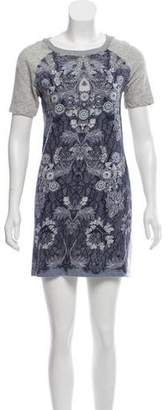 Marc by Marc Jacobs Floral Short Sleeve Dress