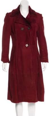 Loro Piana Long Leather Coat