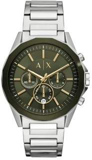 Armani Exchange Drexler Chronograph Stainless Steel Bracelet Watch