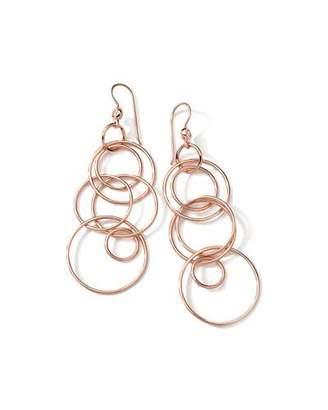 Ippolita Jet Set 18k Rose Gold Earrings