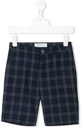 Manuel Ritz Kids checked shorts
