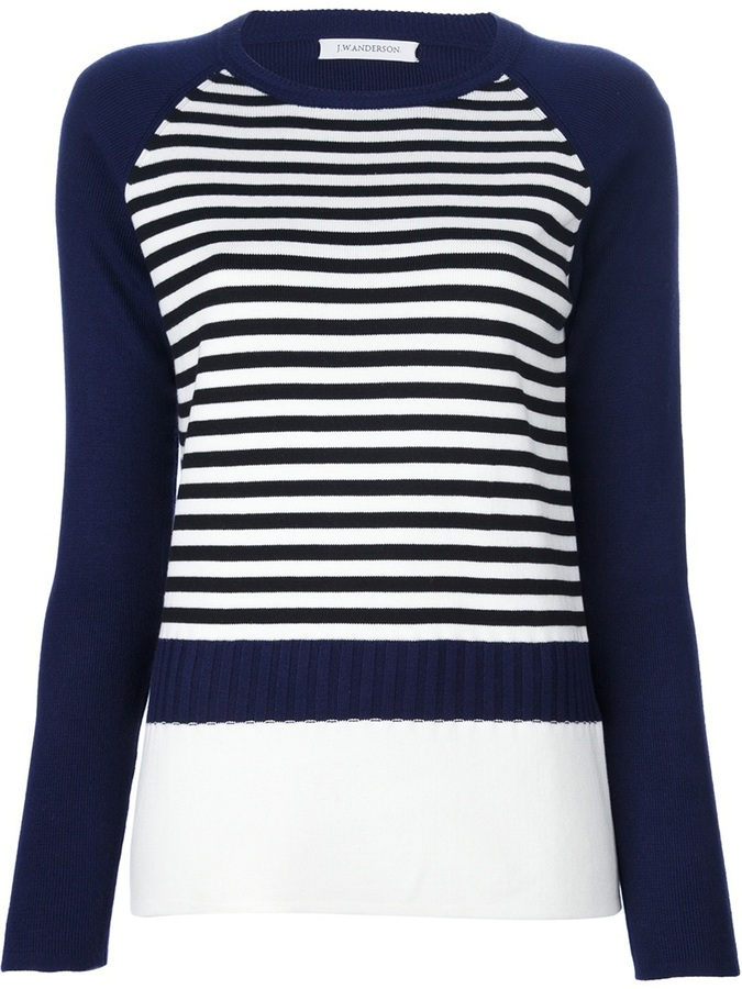 J.W.Anderson stripe knit sweater
