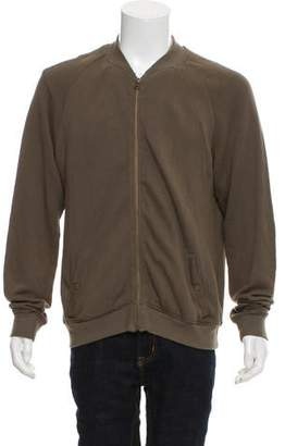 Robert Geller Seconds Two-Pocket Zip-Up Sweatshirt