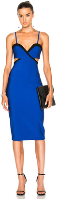 Mugler Mega Milan Bicolor Dress $1,850 thestylecure.com