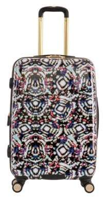 "Aimee Kestenberg 24"" Printed Polycarbonate Film and ABS Expandable 8-Wheel Upright Luggage"