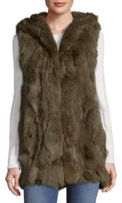 Adrienne Landau Real Fur Vest