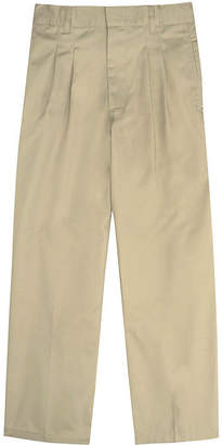 JCPenney French Toast Twill Double-Knee Pleated Pants - Boys 4-7