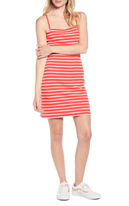 BP '90s Stripe Sleeveless Minidress