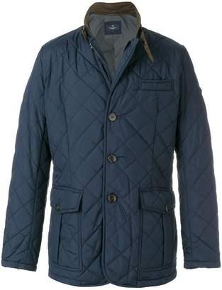 Hackett quilted lightweight jacket