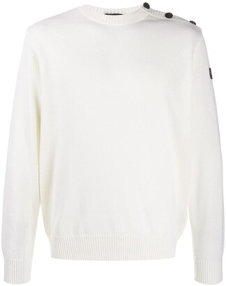 Paul & Shark button shoulder jumper