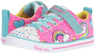 Skechers Twinkle Toes - Sparkle Lite 10988L Lights Girl's Shoes