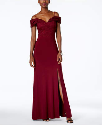 Nightway Off-The-Shoulder Gown $109 thestylecure.com