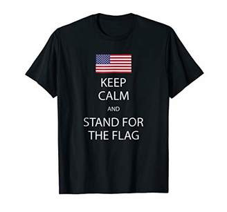 Keep Calm And Stand For The Flag Tshirt American Flag Shirt