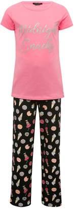 M&Co Teens' midnight snacks pyjamas