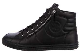 Chanel CC Leather Sneakers