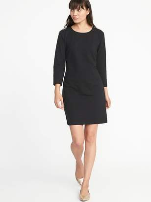 Old Navy Fitted Crew-Neck Jersey Tee Dress for Women