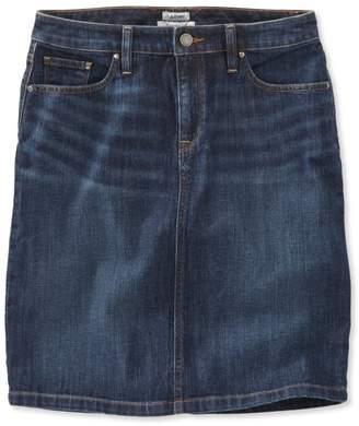 L.L. Bean L.L.Bean 1912 Jean Skirt