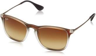 Ray-Ban Men's 0rb4187 Square Sunglasses