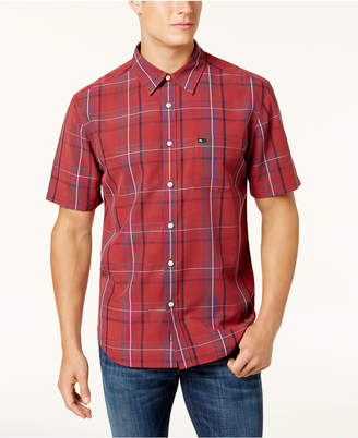 Quiksilver Men's Snap Jam Plaid Shirt
