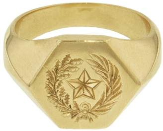 Grayson Kim Dunham Lone Star Ring - Yellow Gold