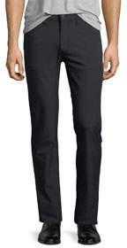 New Stretch-Nylon Five-Pocket Pants Black