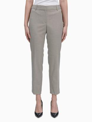 Calvin Klein Birdseye Slim Fit Pants