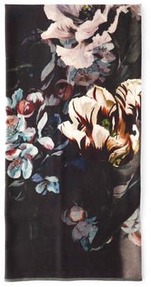 Designers Guild Delft Flower Throw Blanket