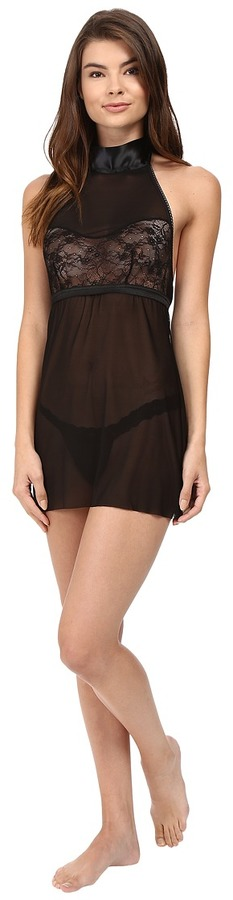 Hanky Panky - Love Tied Open Back Babydoll Women's Lingerie