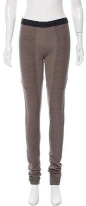 Isabel Benenato Casual Mid-Rise Pants