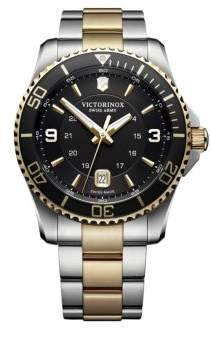 Victorinox Maverick Stainless Steel Analog Bracelet Watch