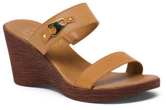 b154be6f21f1 Wedge Sandals Made In Italy - ShopStyle