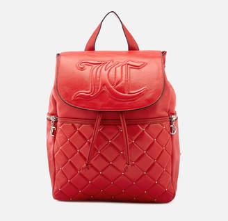 Juicy Couture Women's Ellen Flapover Backpack - Cherry