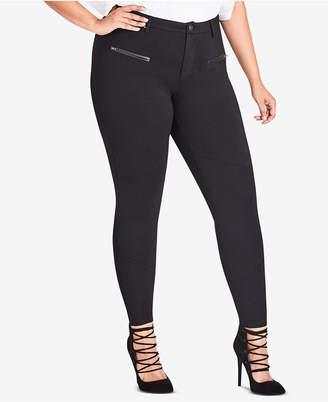 City Chic Trendy Plus Size Skinny Stretch Pants