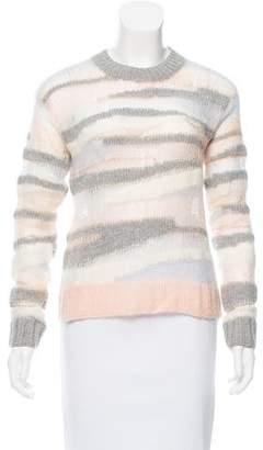 A.L.C. Open-Knit Wool Sweater