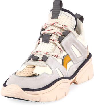 Isabel Marant Kindsay Thick Platform Hiker Sneakers