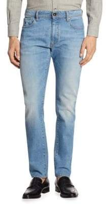 Luciano Barbera Medium Denim Wash Jeans