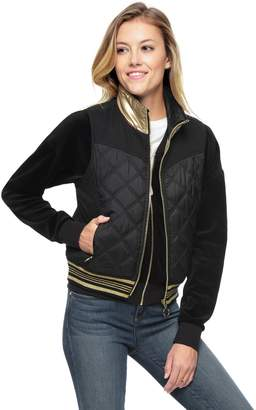 Juicy Couture Nylon Quilted Reversible Puffer Vest